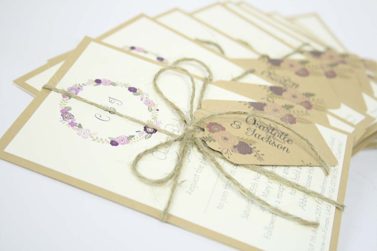 Stack of Invitations
